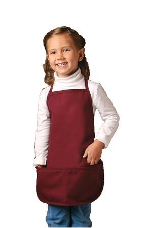 Kids Bib Apron 2 Pockets