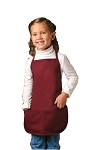 Kids Bib Apron - 2 pockets