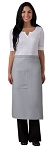 Full Bistro Apron - 1 pocket