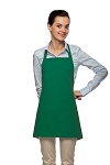 3 pocket Bib Apron with Pencil Pocket Kelly green