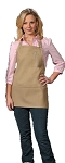 Three pocket Bib Apron with a penicil pocket
