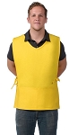 Cobbler Apron w/ 2 pockets, V-neck, Squared