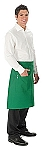 Single pocket Waist Apron with a pencil divide