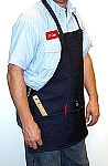 Denim Carpenter Apron - 3 Pockets