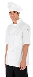 Deluxe Chef coat. short sleeve