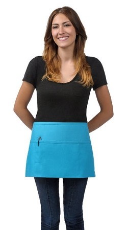 Waist Apron - 3 Pockets with pencil divide