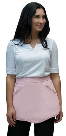 Scalloped Waist Apron - 2 pockets