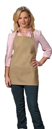 Bib Apron 3 pockets and Pencil Pocket