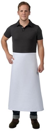 Full length Bistro Apron without pockets