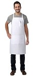 Butcher bib apron 2 pockets with pencil pocket