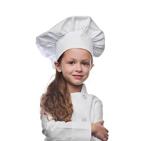 Childs chef hat. 20 colors available.